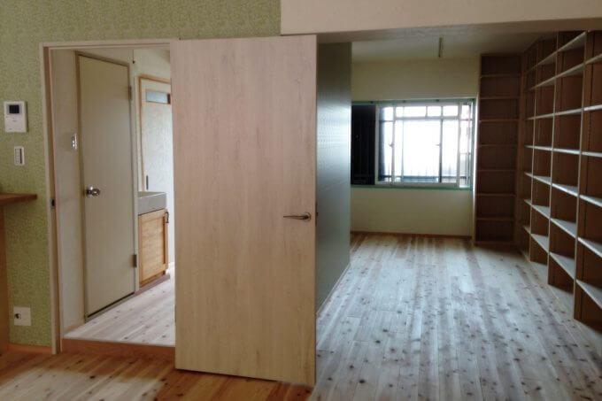 ほぼワンルームにリノベーションしたマンション