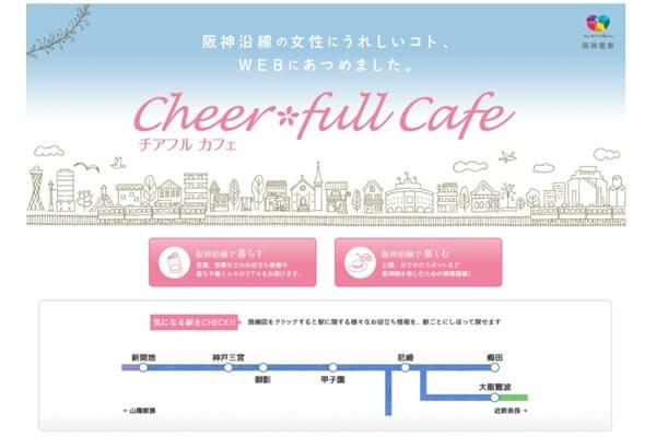 HANSHIN女性応援プロジェクトCheer*full Cafe(チアフルカフェ)
