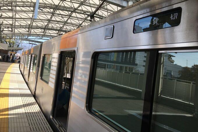 貴重な阪神電車貸切