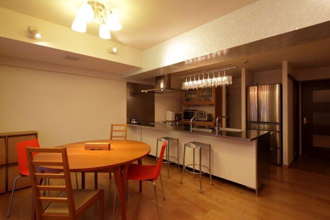 デザインベースとなったTOYOキッチンのアイランドキッチン