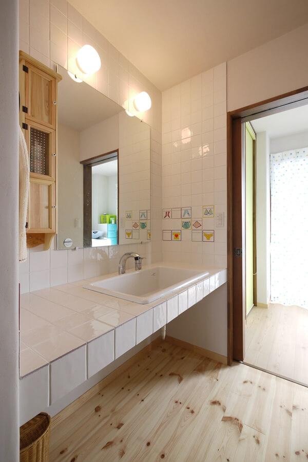 洗面所と脱衣室