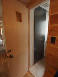 森を望む家トイレ竣工時