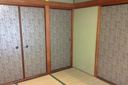 和室の畳を貼り替えました