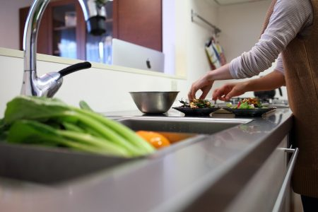 とても調理がしやすいキッチンだそうです