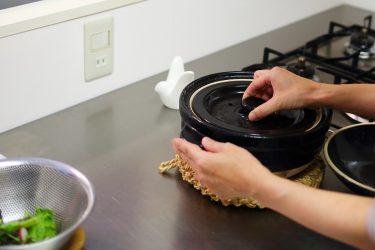 炊飯器はなく「かまどさん」という土鍋を炊飯に使用