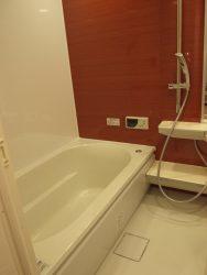 浴室のアクセントウォール