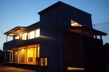 「岡山の家」の外観
