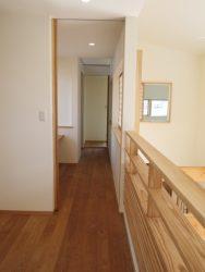 フリースペースと主寝室の間に書斎コーナーがあります
