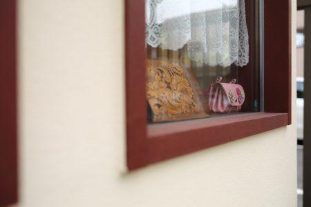 窓外から見える作品