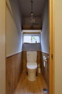昭和ガラスの家2階トイレ